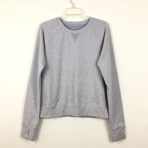 Lululemon Voyage Crewneck Pullover Sweater Sz 8